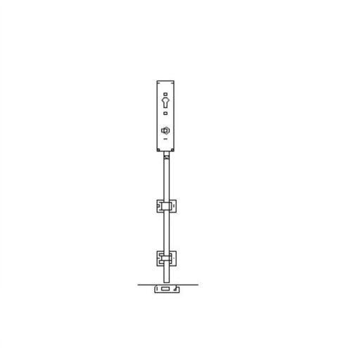 GSGPV1 Garagentorbeschlag 1 Punktverriegelung
