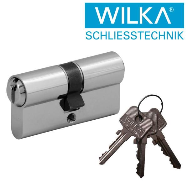 WI22650 Kurzzylinder WILKA Not&Gefahrenfunktion 5/6stiftig