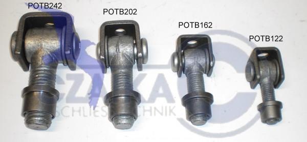 POTB202 M 20 Torband mit Einschweißmutter