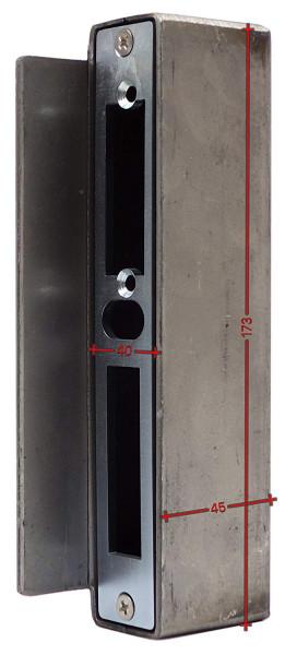 SK753440 Gegenkasten, ohne Anker 40 mm 45x173mm eisenroh