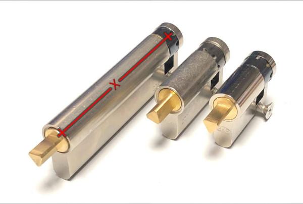 WID1030 Halbzylinder Länge 10-30 3 - Kant 8mm außen