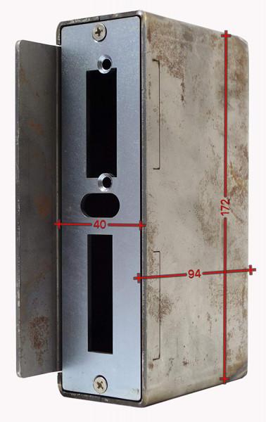 SK753040 Gegenkasten 40mm Rohr 40x94x172 D60mm 462