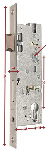 WI143835 Rohrrahmenschloß 92 D35 Wilka 1438 ED