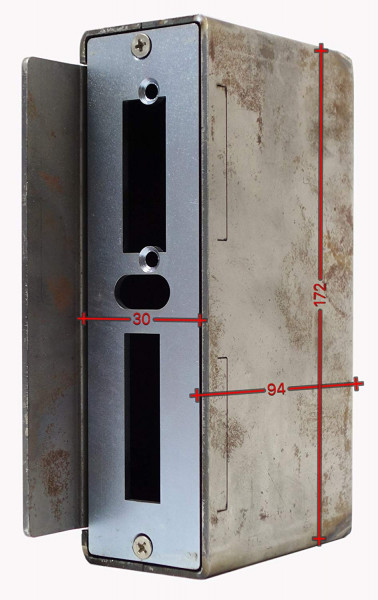 SK753030 Gegenkasten 30mm Rohr 30x94x172 D60mm 362