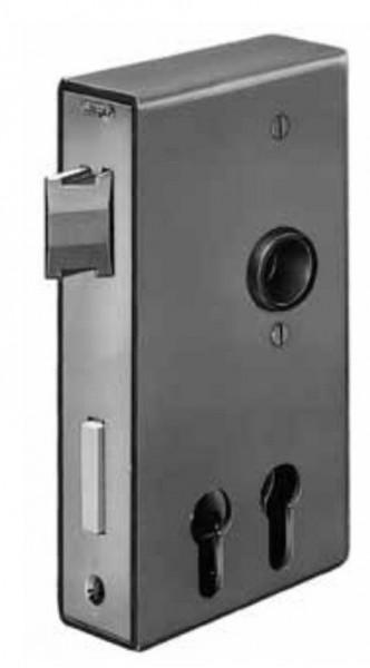 AM140D30ZW Schloßkasten komplet mit 2 PZ-Durchbrüchen